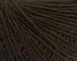 Fiber Content 70% Acrylic, 30% Wool, Brand ICE, Dark Brown, Yarn Thickness 2 Fine  Sport, Baby, fnt2-47447