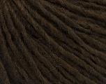 Fiber Content 70% Acrylic, 30% Wool, Brand Ice Yarns, Dark Brown, Yarn Thickness 4 Medium  Worsted, Afghan, Aran, fnt2-47499
