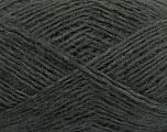 Fiber Content 40% Wool, 40% Acrylic, 20% Polyamide, Brand Ice Yarns, Dark Grey, fnt2-47838