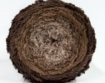 Fiber Content 80% Polyamide, 20% Polyester, Brand ICE, Brown Shades, Yarn Thickness 5 Bulky  Chunky, Craft, Rug, fnt2-48021