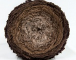 Fiber Content 80% Polyamide, 20% Polyester, Brand Ice Yarns, Brown Shades, Yarn Thickness 5 Bulky  Chunky, Craft, Rug, fnt2-48021