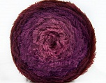 Fiber Content 80% Polyamide, 20% Polyester, Orchid, Lavender, Brand Ice Yarns, Burgundy, Yarn Thickness 5 Bulky  Chunky, Craft, Rug, fnt2-48025