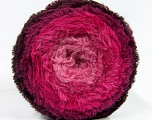 Fiber Content 80% Polyamide, 20% Polyester, Pink Shades, Maroon, Brand Ice Yarns, Yarn Thickness 5 Bulky  Chunky, Craft, Rug, fnt2-48026
