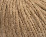Fiber Content 50% Merino Wool, 25% Alpaca, 25% Acrylic, Brand Ice Yarns, Cafe Latte, Yarn Thickness 6 SuperBulky  Bulky, Roving, fnt2-48096