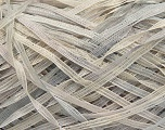 Fiber Content 100% Micro Fiber, Brand Ice Yarns, Grey Shades, Cream, fnt2-48274