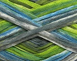 Fiber Content 100% Acrylic, White, Brand Ice Yarns, Grey, Green, Blue, Yarn Thickness 4 Medium  Worsted, Afghan, Aran, fnt2-48280