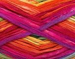 Fiber Content 100% Acrylic, Yellow, Orange, Brand Ice Yarns, Green, Fuchsia, Blue, Yarn Thickness 4 Medium  Worsted, Afghan, Aran, fnt2-48283