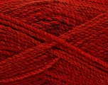 Fiber Content 100% Acrylic, Red, Brand Ice Yarns, Burgundy, Yarn Thickness 4 Medium  Worsted, Afghan, Aran, fnt2-48329