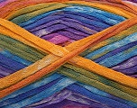 Fiber Content 100% Acrylic, Pink, Lavender, Brand Ice Yarns, Gold, Blue, Yarn Thickness 4 Medium  Worsted, Afghan, Aran, fnt2-48332