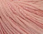 Fiber Content 79% Cotton, 21% Viscose, Light Pink, Brand ICE, Yarn Thickness 3 Light  DK, Light, Worsted, fnt2-48345