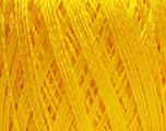 Fiber Content 60% Polyamide, 40% Viscose, Yellow, Brand Ice Yarns, Yarn Thickness 2 Fine  Sport, Baby, fnt2-48390