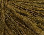 Fiber Content 55% Acrylic, 45% Wool, Brand Ice Yarns, Dark Olive Green, Yarn Thickness 4 Medium  Worsted, Afghan, Aran, fnt2-48478