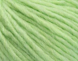 Fiber Content 50% Merino Wool, 25% Acrylic, 25% Alpaca, Light Green, Brand Ice Yarns, Yarn Thickness 5 Bulky  Chunky, Craft, Rug, fnt2-48706