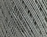 Fiber Content 75% Acrylic, 25% Polyamide, Silver, Brand Ice Yarns, Yarn Thickness 2 Fine  Sport, Baby, fnt2-48796