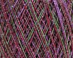 Fiber Content 75% Acrylic, 25% Polyamide, Purple Shades, Brand Ice Yarns, Green, Yarn Thickness 1 SuperFine  Sock, Fingering, Baby, fnt2-48802