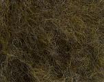 Fiber Content 40% Wool, 40% Acrylic, 20% Polyamide, Brand Ice Yarns, Dark Green Melange, fnt2-48819