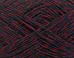 Fiber Content 50% Wool, 50% Viscose, Purple, Brand Ice Yarns, Burgundy, Black, Yarn Thickness 3 Light  DK, Light, Worsted, fnt2-48863