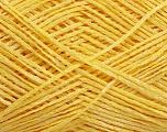 Fiber Content 80% Acrylic, 20% Polyamide, Yellow, Brand ICE, Yarn Thickness 2 Fine  Sport, Baby, fnt2-48893