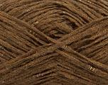 Fiber Content 40% Wool, 40% Acrylic, 20% Polyamide, Brand Ice Yarns, Brown, fnt2-48934
