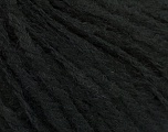 Fiber Content 50% Wool, 30% Acrylic, 20% Alpaca, Brand ICE, Black, Yarn Thickness 4 Medium  Worsted, Afghan, Aran, fnt2-49428
