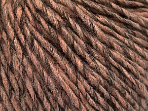 Fiber Content 50% Wool, 50% Acrylic, Salmon, Brand ICE, Camel, Brown, Yarn Thickness 4 Medium  Worsted, Afghan, Aran, fnt2-53957