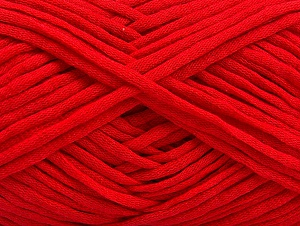 Fiber Content 67% Cotton, 33% Polyamide, Red, Brand ICE, fnt2-58274