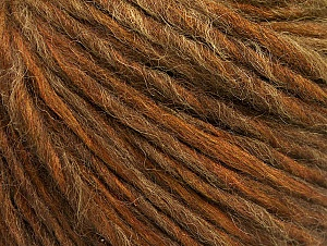 Fiber Content 50% Acrylic, 50% Wool, Olive Green, Brand ICE, Brown Shades, fnt2-58947