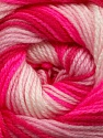 . Fiber Content 100% Baby Acrylic, Pink Shades, Neon Pink, Brand ICE, Yarn Thickness 2 Fine  Sport, Baby, fnt2-49998