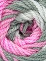 Fiber Content 100% Baby Acrylic, White, Pink, Brand Ice Yarns, Grey, Yarn Thickness 2 Fine  Sport, Baby, fnt2-50002