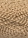Fiber Content 60% Acrylic, 40% Angora, Brand Ice Yarns, Cafe Latte, Yarn Thickness 2 Fine  Sport, Baby, fnt2-50279