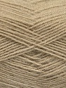 Fiber Content 60% Acrylic, 40% Angora, Brand Ice Yarns, Beige, Yarn Thickness 2 Fine  Sport, Baby, fnt2-50281