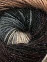Fiber Content 57% Premium Acrylic, 3% Metallic Lurex, 20% Wool, 20% Mohair, Brand Ice Yarns, Grey Shades, Brown Shades, Yarn Thickness 2 Fine  Sport, Baby, fnt2-50315