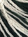 Fiber Content 100% Acrylic, White, Brand Ice Yarns, Black, Yarn Thickness 3 Light  DK, Light, Worsted, fnt2-50809