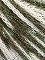 Fiber Content 100% Acrylic, White, Khaki, Brand ICE, Yarn Thickness 3 Light  DK, Light, Worsted, fnt2-50810