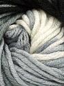 Fiber Content 100% Acrylic, White, Brand Ice Yarns, Grey, Black, Yarn Thickness 5 Bulky  Chunky, Craft, Rug, fnt2-50838