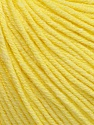 Fiber Content 60% Cotton, 40% Acrylic, Light Yellow, Brand Ice Yarns, Yarn Thickness 2 Fine  Sport, Baby, fnt2-51232