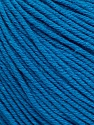 Fiber indhold 60% Bomuld, 40% Akryl, Turquoise, Brand Ice Yarns, Yarn Thickness 2 Fine  Sport, Baby, fnt2-51238