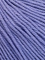 Fiber indhold 60% Bomuld, 40% Akryl, Lilac, Brand Ice Yarns, Yarn Thickness 2 Fine  Sport, Baby, fnt2-51241