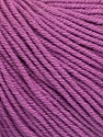 Fiber indhold 60% Bomuld, 40% Akryl, Lavender, Brand Ice Yarns, Yarn Thickness 2 Fine  Sport, Baby, fnt2-51242
