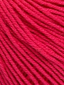 Fiber indhold 60% Bomuld, 40% Akryl, Brand Ice Yarns, Fuchsia, Yarn Thickness 2 Fine  Sport, Baby, fnt2-51244