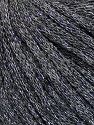 Fiber Content 50% Wool, 38% Acrylic, 12% Metallic Lurex, Silver, Brand ICE, Grey, Yarn Thickness 4 Medium  Worsted, Afghan, Aran, fnt2-51370