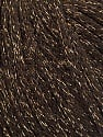 Fiber Content 50% Wool, 38% Acrylic, 12% Metallic Lurex, Brand ICE, Gold, Brown, Yarn Thickness 4 Medium  Worsted, Afghan, Aran, fnt2-51371