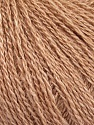 Fiber Content 65% Merino Wool, 35% Silk, Brand Ice Yarns, Beige, Yarn Thickness 1 SuperFine  Sock, Fingering, Baby, fnt2-51455