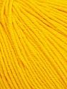Fiber Content 60% Cotton, 40% Acrylic, Yellow, Brand ICE, Yarn Thickness 2 Fine  Sport, Baby, fnt2-51514