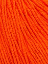 Fasergehalt 60% Baumwolle, 40% Acryl, Orange, Brand Ice Yarns, Yarn Thickness 2 Fine  Sport, Baby, fnt2-51516