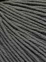 Fiber Content 60% Cotton, 40% Acrylic, Brand ICE, Grey, Yarn Thickness 2 Fine  Sport, Baby, fnt2-51562