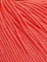 Fiber Content 60% Cotton, 40% Acrylic, Salmon, Brand Ice Yarns, Yarn Thickness 2 Fine  Sport, Baby, fnt2-51564