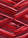 Planned Pooling The yarn is suitable for planned pooling Состав пряжи 100% Antipilling Acrylic, Red, Pink, Brand Ice Yarns, Burgundy, Yarn Thickness 4 Medium  Worsted, Afghan, Aran, fnt2-51614
