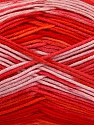 Fiber Content 100% AntiBacterial Micro Dralon, Salmon, Red, Pink, Brand ICE, Yarn Thickness 2 Fine  Sport, Baby, fnt2-51905