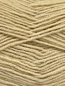 Fiber Content 55% Virgin Wool, 5% Cashmere, 40% Acrylic, Brand ICE, Beige, Yarn Thickness 2 Fine  Sport, Baby, fnt2-52127